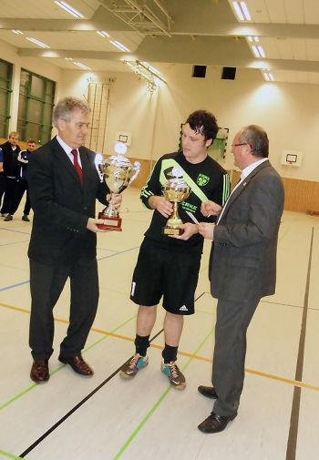 Herren  Hallenturnier um den Pokal des Bürgermeisters der Stadt Teterow