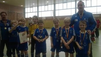 Hallenturnier der F2-Junioren in Teterow