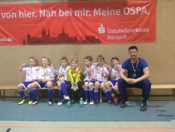 OSPA Hallenturnier der E-Junioren in Teterow