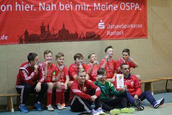 OSPA-Hallenturnier der D-Junioren in Teterow