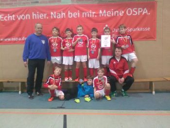 OSPA-Turnier der F-Junioren in Teterow