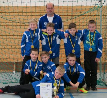E1- Junioren: 3. Platz beim Neujahrsturnier des FSV Dummerstorf 47