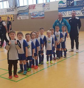 G-Junioren des SV Teterow 90 belegen beim Turnier in Rühn den 3. Platz