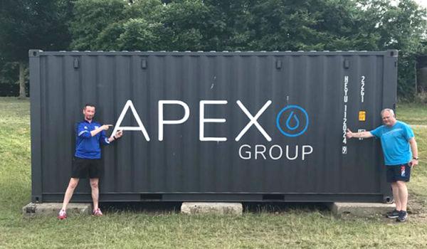 Neuer Container für Trainingsmaterialien