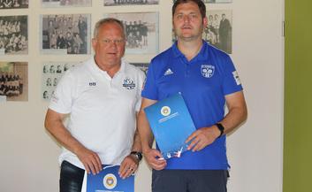 Landesfußballverband ehrt verdienstvolle Mitglieder