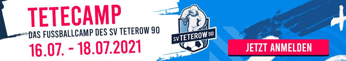 TETECAMP - Das Fußballcamp des SV Teterow 90