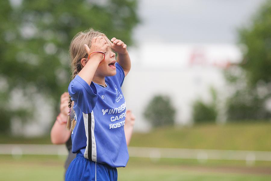 Beste Laune beim Saisonabschluss der FII-Junioren